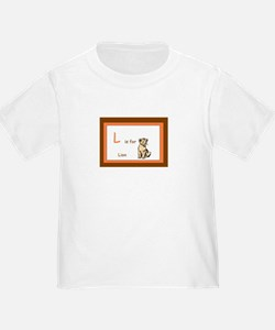L is for Lion T
