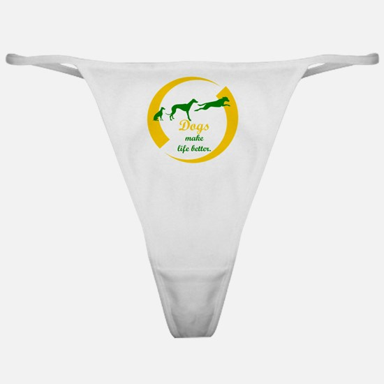 Funny Adopt a pet Classic Thong