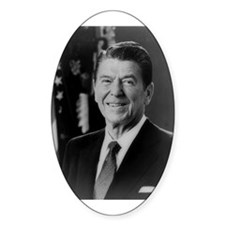Ronald Reagan - 40th President Oval Decal