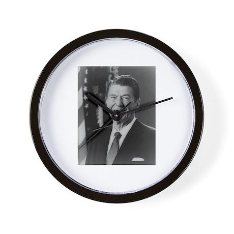 Ronald Reagan - 40th President Wall Clock
