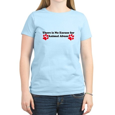 No Excuse-red Women's Light T-Shirt