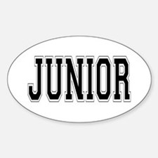 Junior Oval Decal