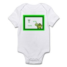 T is for Turtle Infant Bodysuit