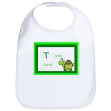T is for Turtle Bib