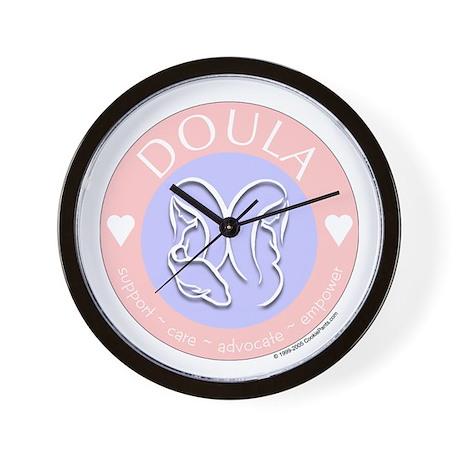 Doula ~ Caring Wall Clock