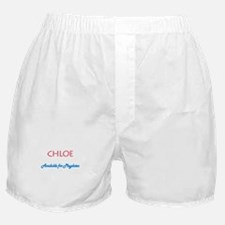 Chloe - Available For Playdat Boxer Shorts