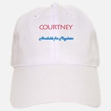 Courtney - Available For Play Baseball Baseball Cap
