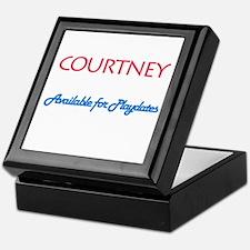 Courtney - Available For Play Keepsake Box