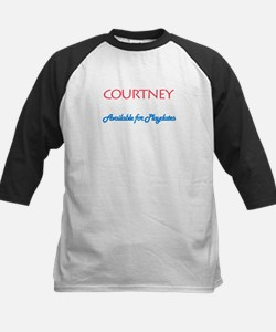 Courtney - Available For Play Tee