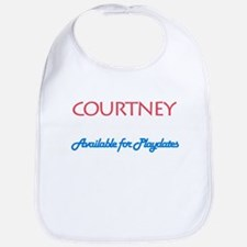 Courtney - Available For Play Bib