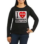 I Love Somebody On YouTube Women's Long Sleeve Dar