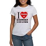 I Love Somebody On YouTube Women's T-Shirt