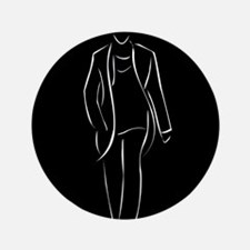 male model on fashion show Button