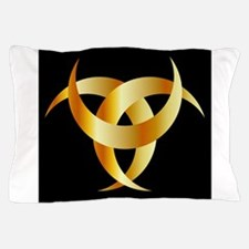 Horned Triskele- The horn of Odin Pillow Case