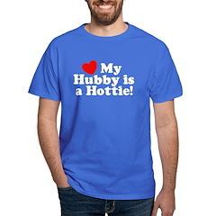 My Hubby is a Hottie T-Shirt