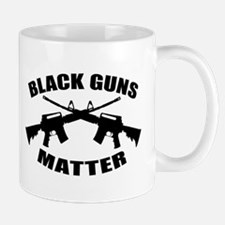 Black Guns Matter Small Small Mug