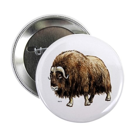 Musk Ox Artic Button