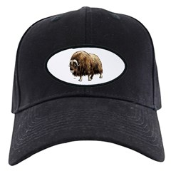 Musk Ox Artic Baseball Hat