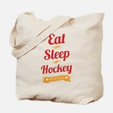 Eat, Sleep, Hockey, Repeat Tote Bag
