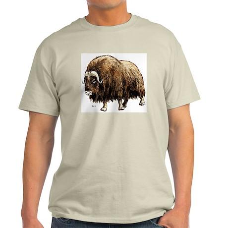 Musk Ox Artic Ash Grey T-Shirt