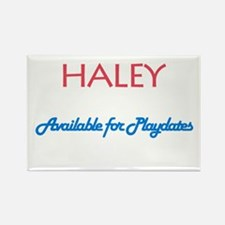 Haley - Available For Playdat Rectangle Magnet (10