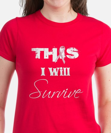 THIS I Will Survive Women's Dark T-Shirt