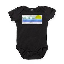 Cute Lake city souvenirs Baby Bodysuit