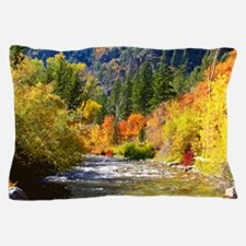 Wood camp Pillow Case
