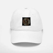 Golden sigil of Baphomet Cap