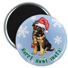 Holiday GSD Magnet