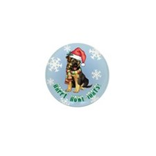 Holiday GSD Mini Button