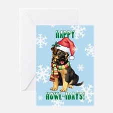 Holiday GSD Greeting Card