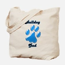 Bulldog Dad3 Tote Bag