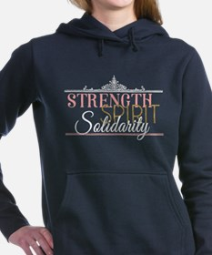 Strength. Spirit. Solida Women's Hooded Sweatshirt