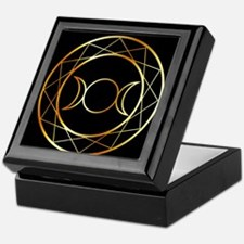 Unique Triple moon Keepsake Box