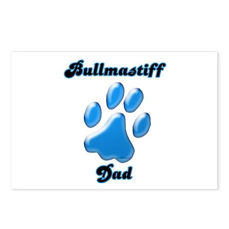 Bullmastiff Dad3 Postcards (Package of 8)