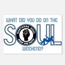 Northern Soul What Did Yo Postcards (Package of 8)