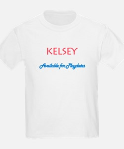 Kelsey - Available For Playda T-Shirt
