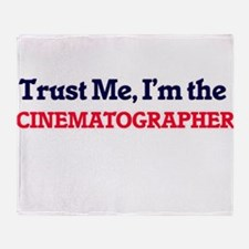 Trust me, I'm the Cinematographer Throw Blanket