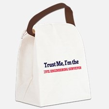 Trust me, I'm the Civil Engineeri Canvas Lunch Bag