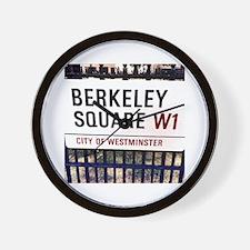 Unique London square Wall Clock