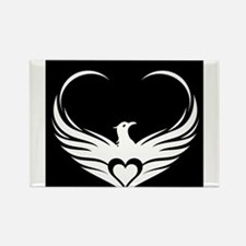 Logo (black and white) Magnets