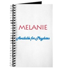 Melanie - Available For Playd Journal