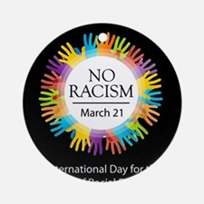 Cool Human rights day Round Ornament