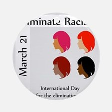 Cute Human rights day Round Ornament