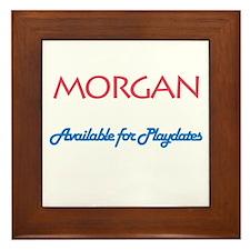 Morgan - Available For Playda Framed Tile