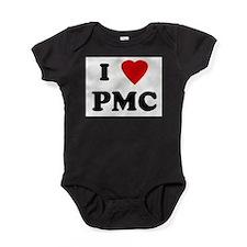 Cute Heart Baby Bodysuit