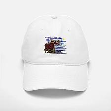 Starry Starry Moose Baseball Baseball Cap