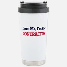 Trust me, I'm the Contr Stainless Steel Travel Mug