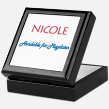 Nicole - Available For Playda Keepsake Box